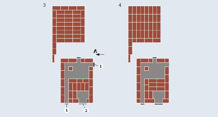 Отопительно-варочная печь-«шведка» + камин - изображение 3