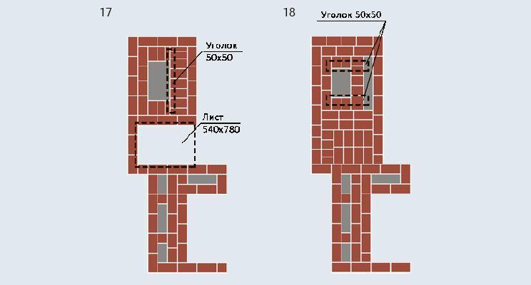 Отопительно-варочная печь-«шведка» + камин - изображение 10