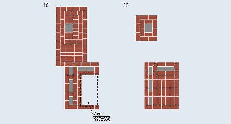 Отопительно-варочная печь-«шведка» + камин - изображение 11
