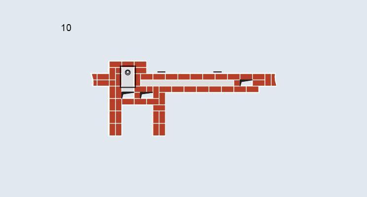 Печь-камин с лежанкой - изображение 12
