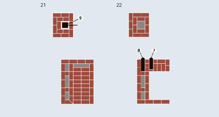 Отопительно-варочная печь-«шведка» + камин - изображение 12