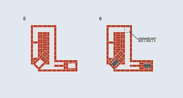Многоцелевая отопительно-варочная печь с  нижним обогревом - изображение 6