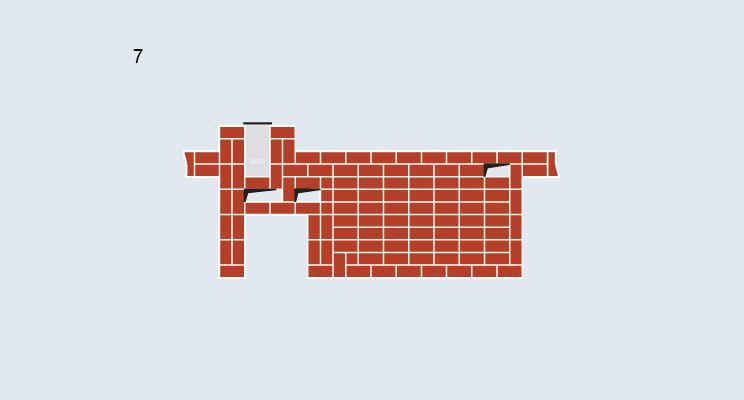 Печь-камин с лежанкой - изображение 9