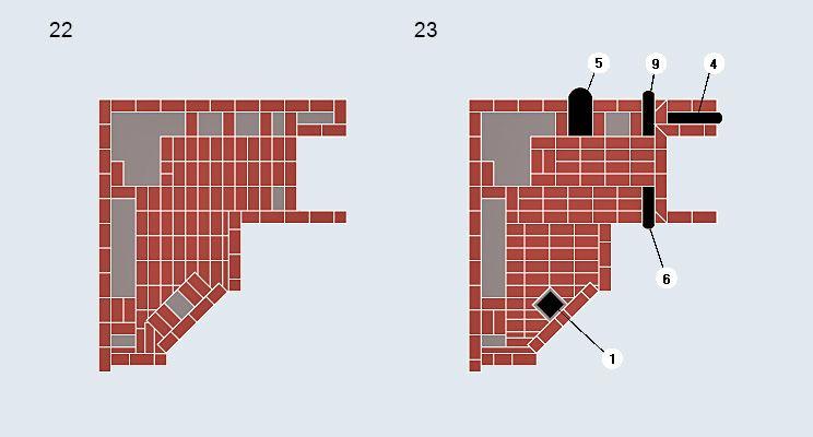 Двухцелевая печь с камином - изображение 14